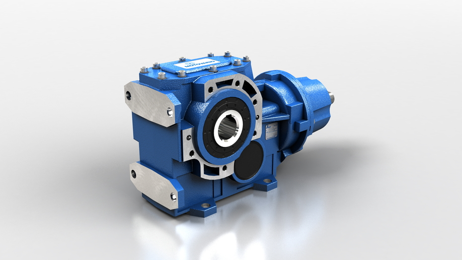 Helical Bevel Gear Reducers – Cast Iron